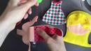 Пошив куклы из фетра с принтом | Felt Doll Sewing