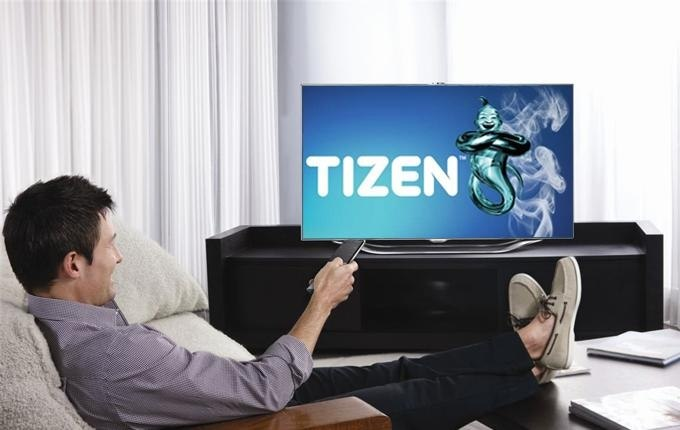 Samsung запустит ОС Tizen на телевизорах