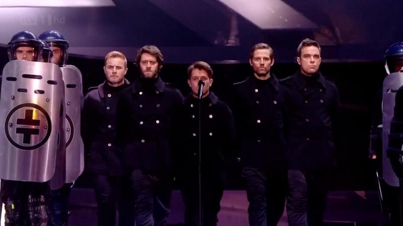 Take That - Kidz (Brit Awards 2011-02-15 HD 720p