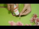 How to make tissue paper flowers Easy Beautiful Cherry Blossom.mp4