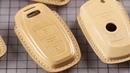 Leatherworking——Handmade carkey case for BMW/Porsche/Mercedes/Audi/Rover