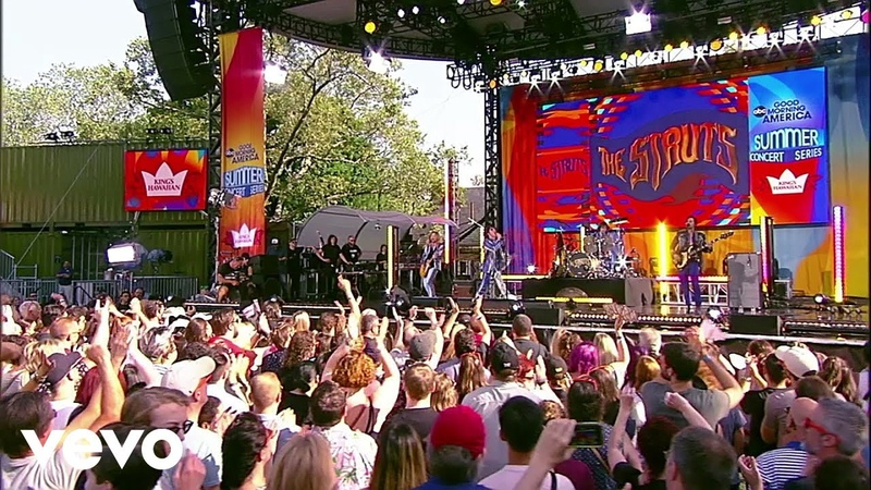 The Struts - Dancing In The Street (Live On Good Morning America's Summer Concert Series/2019)