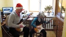 Heavy Metal Version Jingle Bells (jam with young guitar student 10 years old)
