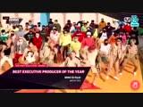181210 Bang Sihyuk wins Best Excutive Producer of the Year Artist BTS at 2018 MAMA