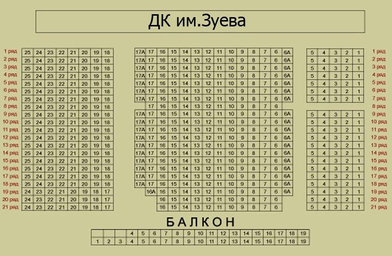 ДК им.Зуева., ул.