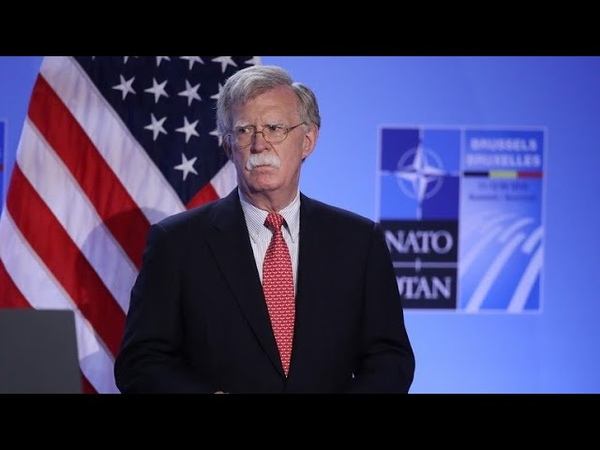 Bolton visits Ukraine, issues warning to Russia
