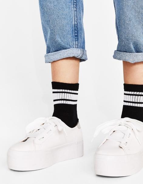 Набор из 2 пар носков в полоску
