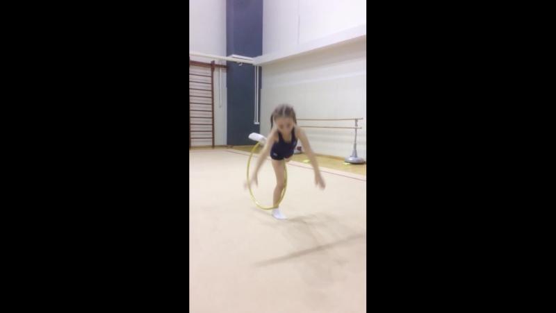 Наша любимая гимнастка