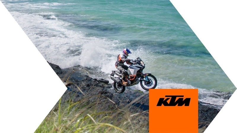 KTM 1090 ADVENTURE R – Chris Birch's Coastal Adventure | KTM