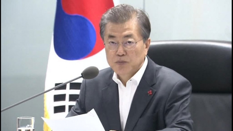 Президент Южной Кореи встретится с Путиным и посмотрит футбол
