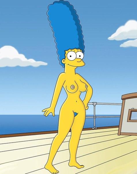 Мардж симпсон голая фото