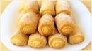 Простой рецепт вкусного печенья Печенье Сахарные трубочки