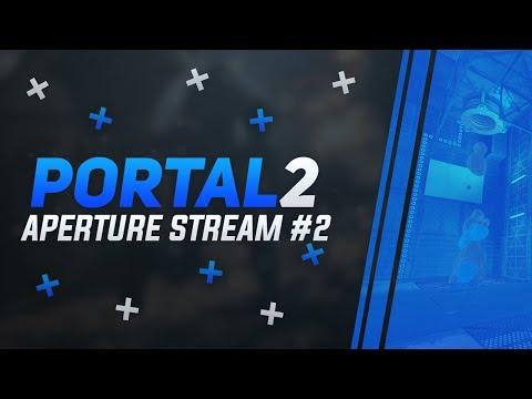 Стрим из Aperture Science 2   Забрызгали какой-то субстанцией, но я нашел бульбу   Portal 2