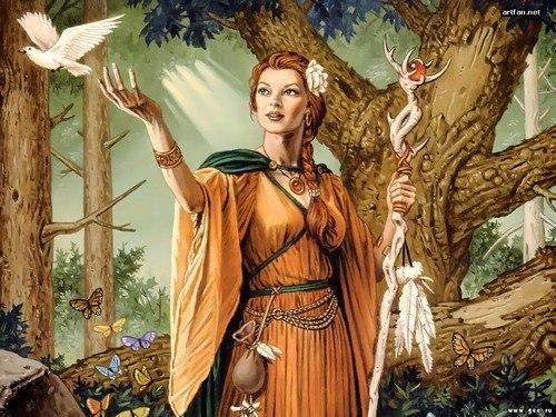 Круг на Весенее Равноденствие (20 марта) - Тридевятое Царство