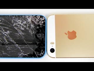 iPhone 5c Drop Test (Shot Using 120fps Slo-Mo on iPhone 5s)