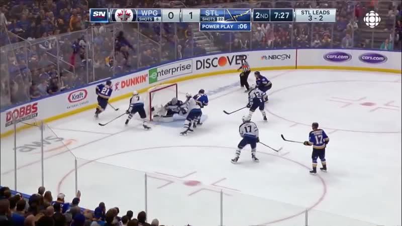 NHL Highlights _ Jets vs. Blues, Game 6 – April 20, 2019