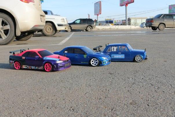 Соревнования по RC Drift