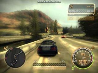 Уход от полиции в Need For Speed Most Wanted 2012