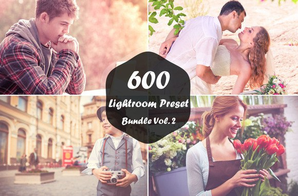 Пресет 600 Lightroom Presets для lightroom