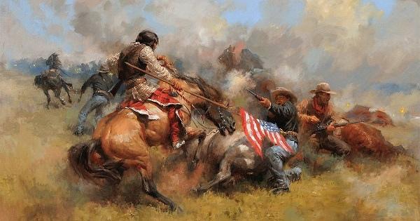 Картинки по запросу Дмитрий Карасюк. Правда о последнем сражении генерала Кастера. Фото