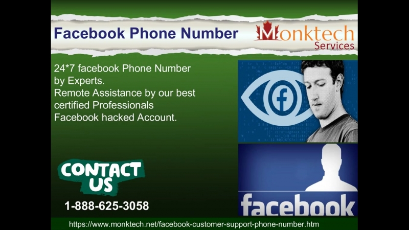 Join Facebook Phone Number 1-888-625-3058 to overcome Fb related hindrance