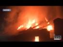 Нічна пожежа на вулиці Дарвіна