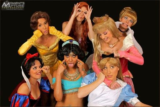 Вот такие вот косплейчики принцесс