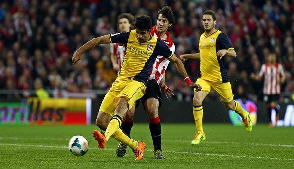 Атлетико выиграл соперника из Бильбао. Обзор матча, видео обзор.