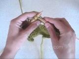 Вязание спицами. Урок 109. Из одной делаем пять или ввязывание шишечки.