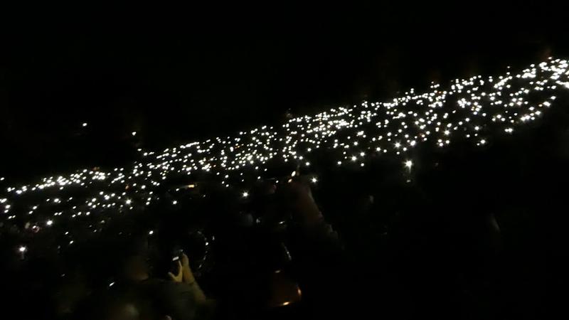 Arctic Monkeys - No. 1 Party Anthem @ Hollywood Bowl, Los Angeles CA , 16.10.2018