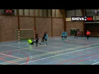 ● Amazing Back-Hell Goal in Futsal ● 2013