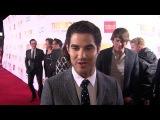 Darren Criss talks about Jane Lynch & Trevor Project | Trevor Live 2013