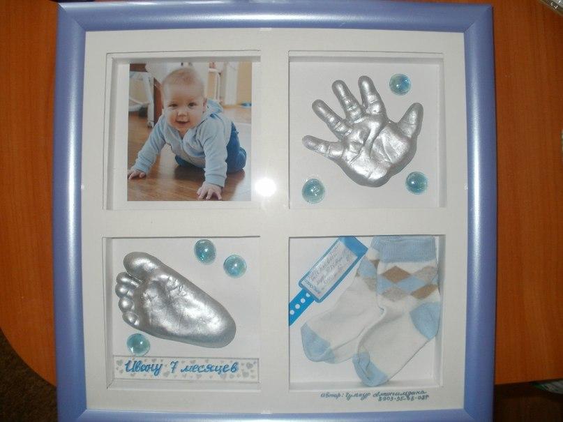 Как сделать отпечаток руки малыша своими руками 166