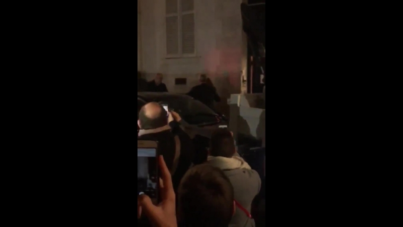 Mylene Farmer - Милен Фармер - После шоу Жана-Поля Готье Folies Bergères - 04.10.2018