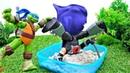 Giochi per bambini. Tartarughe Ninja al parco. Nuova ricetta