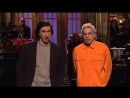 Saturday Night Live - SNL - Our host, Adam Driver and Pete chat about their summers. #SNLPremiere