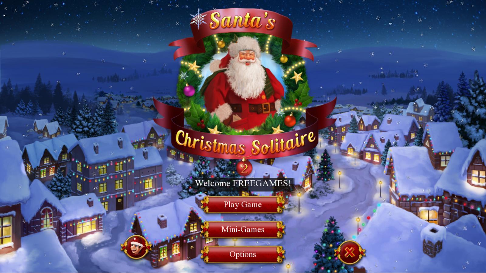 Рождественский пасьянс Санты 2 | Santa's Christmas Solitaire 2 (En)
