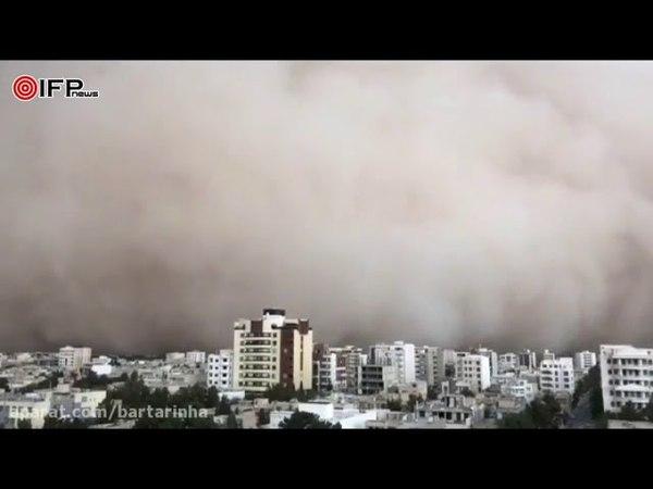 Apocalyptic Dust Storm Hits Irans Yazd