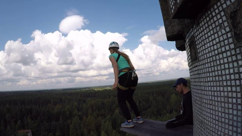 Прыжки с Гвоздя с командой RAPT - Вероника