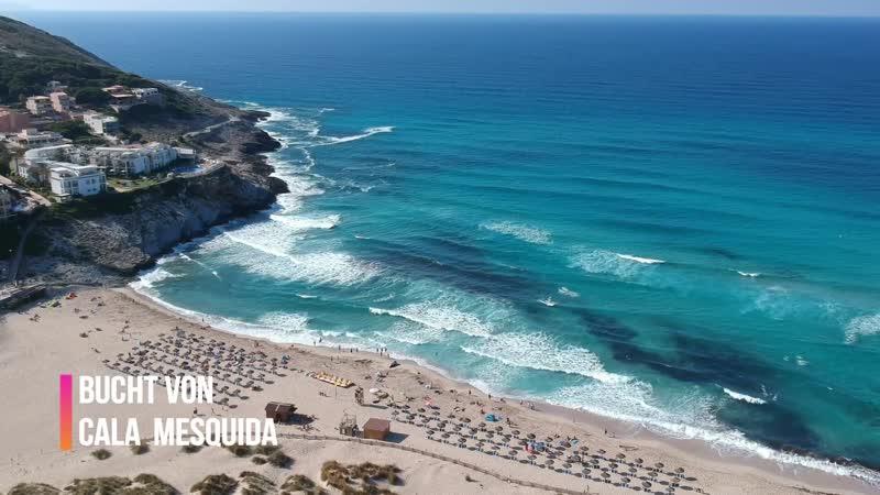 Cala Mesquida - Mallorca - DJI Spark - with Outtake