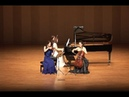 [정경화 열음 지아 Myung-Wha Chung Yeol Eum Son Jia Shin] Mendelssohn Piano trio No.1 in d minor, Op.49-2