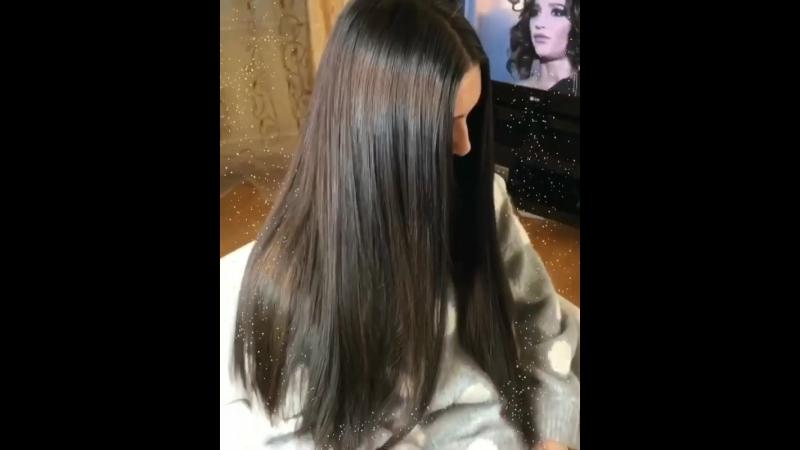 P.s сестра делала коррекцию ,очень довольна ,300 прядей качественных волос 👌🏻