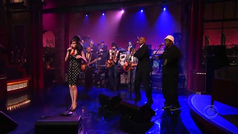 Amy Winehouse HD 'Rehab' Live on David Letterman Legendado PT/ENG