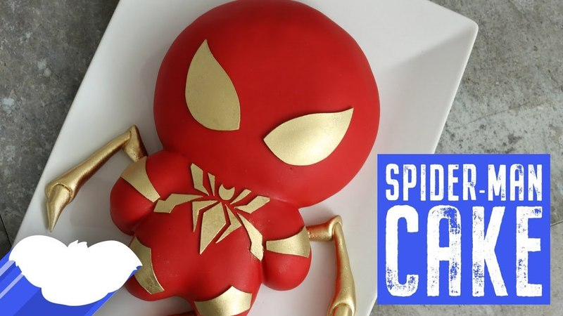 Lakomkavk Iron Spiderman Cake Avengers Infinity War Koalipops How To