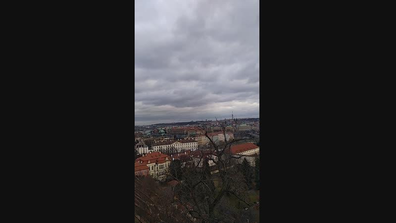 С Пражского града