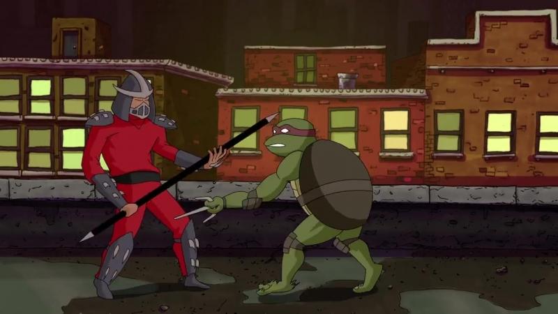 TMNT: Shredder's Animated Evolution