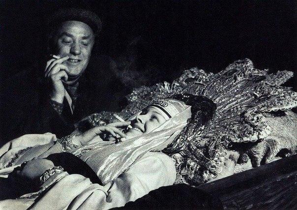 Малюта скуратов у гроба царицы