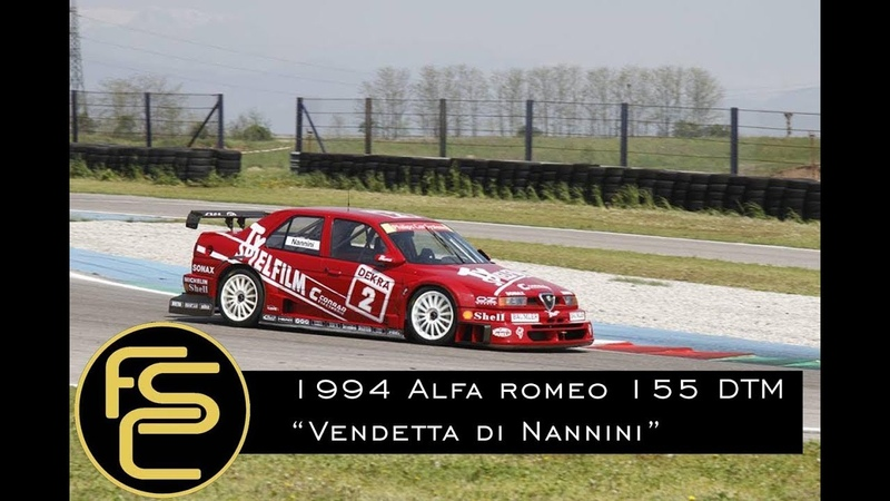 1994 ALFA ROMEO 155 V6 Ti DTM Nannini - ONBOARD HISTORY