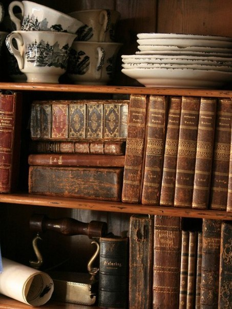 Книги, которые ассоциируются с осенью.