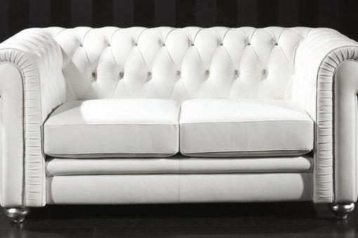 Белый диван фото